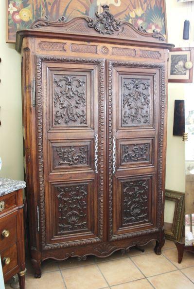 Armoire Renaissance Chene Pasquier Antiquites